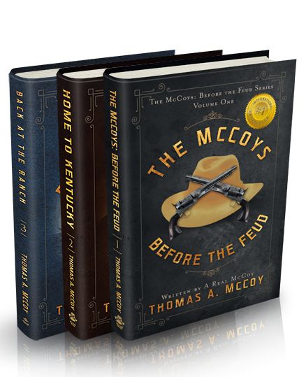 The McCoy's Before the Feud book series by author Thomas A. McCoy